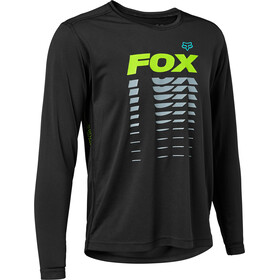 Fox Ranger Maglia jersey a maniche lunghe Ragazzi, nero